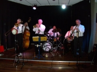 The Savannah Jazz Band at our Christmas Party